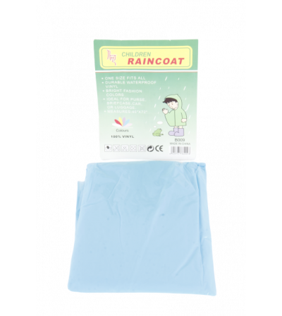 Impermeable desechable para ninos